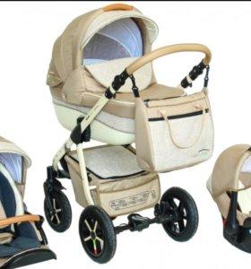 СРОЧНО! Детская коляска Verdi Pepe Eco Plus 3 в 1
