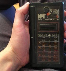 ИРГ-02А — Бытовой сигнализатор гамма-излучения.
