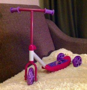 Самокат 3-х колесный Smoby Minnie Mouse