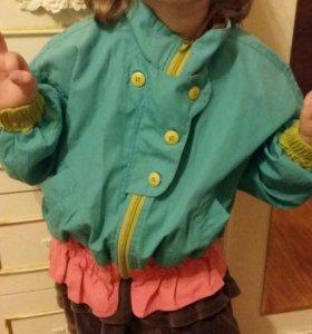 Куртка ветровка на 104-110