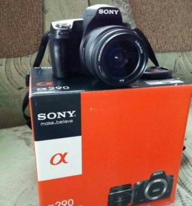 Фотоаппарат Sony Alpha DSLR-A290L 18-55mm Kit