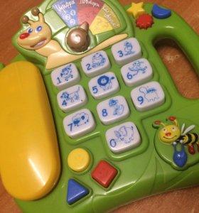 Телефон - развивающая игрушка