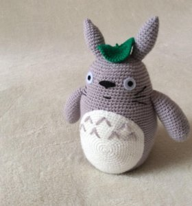 Вязаная игрушка Тоторо