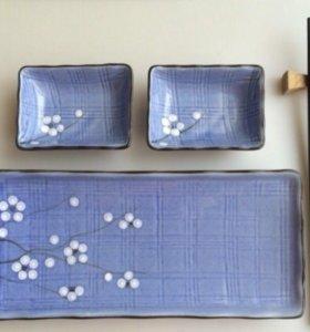 Набор посуды для роллов суши