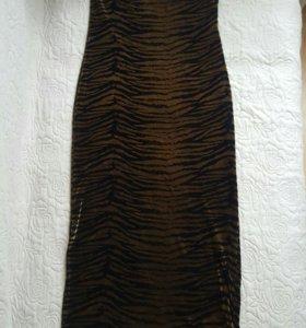 Новое платье бархатное с болеро