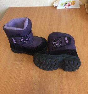 Зимние ботинки I-glu 21 р-р