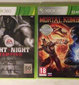 4 игры Xbox 360 + геймпад