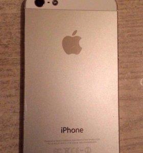 iPhone 5,( 64 Гбайт.,белый)