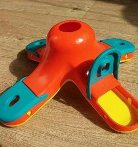 Развивающая игрушка кормушка для собак