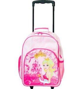 Новый рюкзак на колесиках с выдвижной ручкой