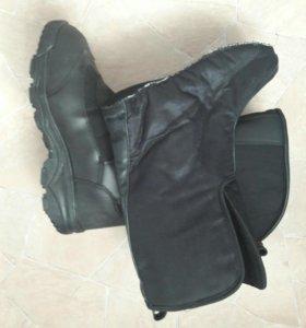 Военные зимние сапоги с термо носком