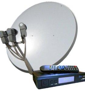 Новые Спутниковые комплекты в рассрочку