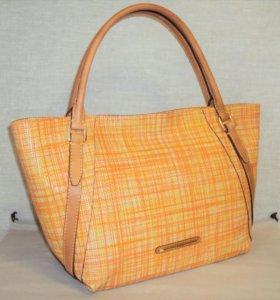Новая солнечная сумкаGaude из натуральной кожи
