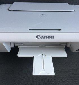 Принтер 3 в одном Canon pixma mg 2240 цветной