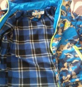 Демисезонная детская куртка, рост на 110-116см