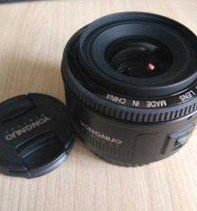 YN35mm F2 Yongnuo 35/2 на Canon
