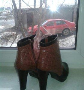 Ботинки весна- осень