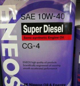 Eneos super diesel 10w40 4л.