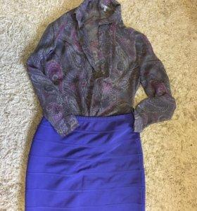 Блуза(gap) и юбка