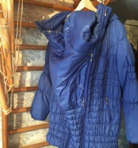 Слингокуртка или куртка 3в1 для беременных и мам