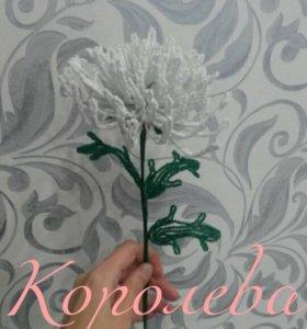 Цветы из бисера. Сувениры. Подарок.