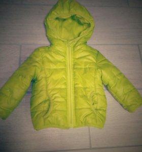 Куртка на весну р.74