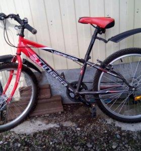 Велосипед горный   Stinger  в отличном состоянии