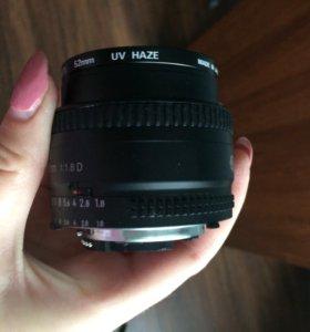 Nikon 50 mm f/1.8 D. AF Nikkor