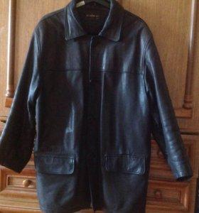 Куртка кожаная.р.46-48