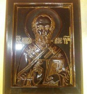 Икона 35×45. Святой Николай