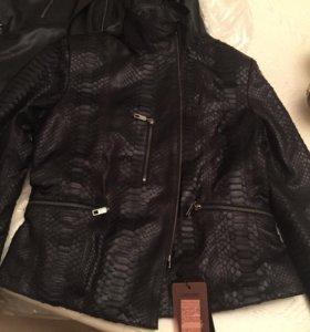 Куртка из питона