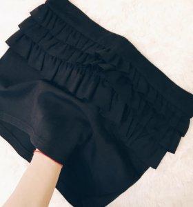 Классическая юбка с баской