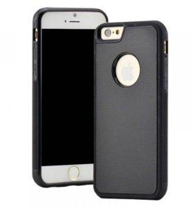 Чехол iPhone 6 черный антигравитационный