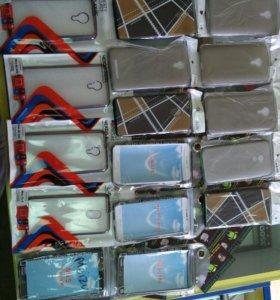Чехлы силиконовые на Meizu