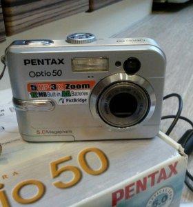 Фотоаппарат Pentax Optio 50