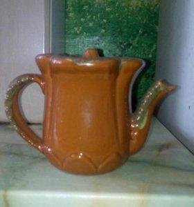 Чайник и подсвечник