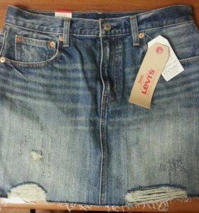 Мини-юбка джинсовая, Levi's