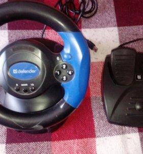 Defender - Игровой руль для ПК.