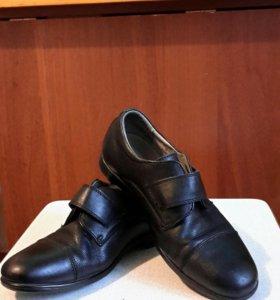 Ботинки туфли детские мужские 34 обувь на мальчика