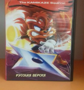 Zero the kamikaze Squirrel Sega 16 bit картридж