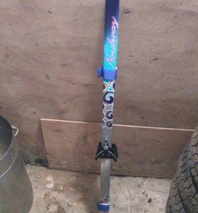 Лыжи детские Nordway 130 см с палками