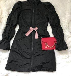 Демисезонный плащ-пальто