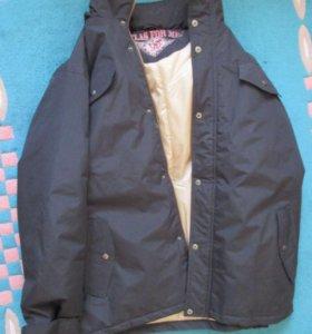 Куртка зимняя новая пуховик с капюшоном