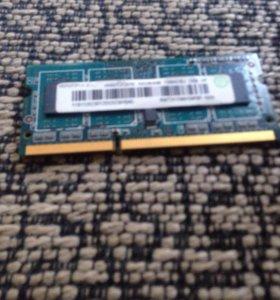 DDR3 для ноутбука 2гб