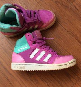 Кеды-ботинки для девочки 32р