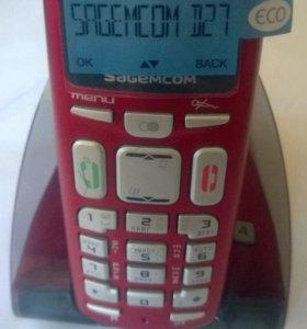 Телефон беспров. Sagemcom D27T(Dect). Новый.