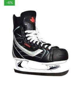Продам хорошие хоккейные коньки 40размера