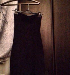 Платье верх -лиф ,внизу карманы фасон тюльпан