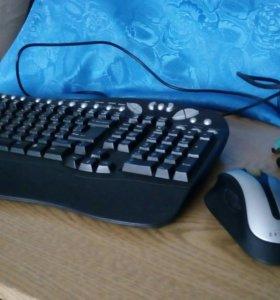 Клавиатура, мышь безпроводная