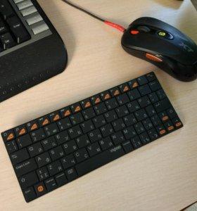 Блютуз клавиатура для телефона